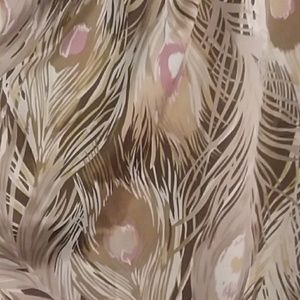 Banana Republic Tops - Banana Republic Short Sleeve Bouse Feather Pattern